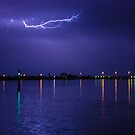 Lighting Up The Estuary by Todd Kluczniak