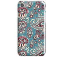 More paisley flowers iPhone Case/Skin