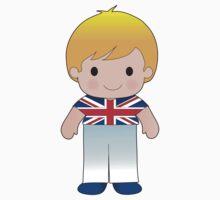 Poppy British Boy Kids Tee