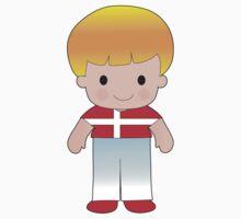 Poppy Denmark Boy One Piece - Short Sleeve