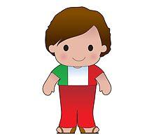 Poppy Italian Boy by Maria Bell