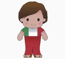 Poppy Italian Boy One Piece - Short Sleeve