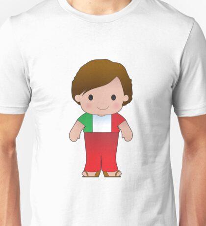 Poppy Italian Boy Unisex T-Shirt