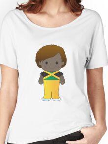 Poppy Jamaica Boy Women's Relaxed Fit T-Shirt