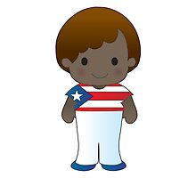 Poppy Puerto Rico Boy by Maria Bell