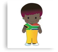 Poppy South Africa Boy Canvas Print