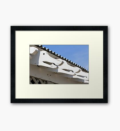 Gator Trim Framed Print