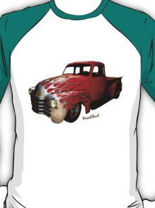 Flaming Chevy Pickup T-Shirt! T-Shirt