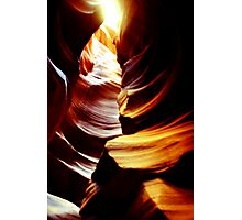 """Light From Above"" Antelope Canyon Photographic Print"