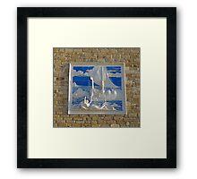 Pictorial Ode to Odysseus Framed Print