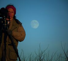 Photographer Shoots for the Moon by Annette  Clark