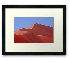 """""""Pink Sand Dune"""" Namibian Desert Landscape Framed Print"""