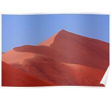 """""""Pink Sand Dune"""" Namibian Desert Landscape Poster"""