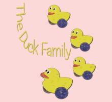 The Duck Family T-shirt One Piece - Short Sleeve