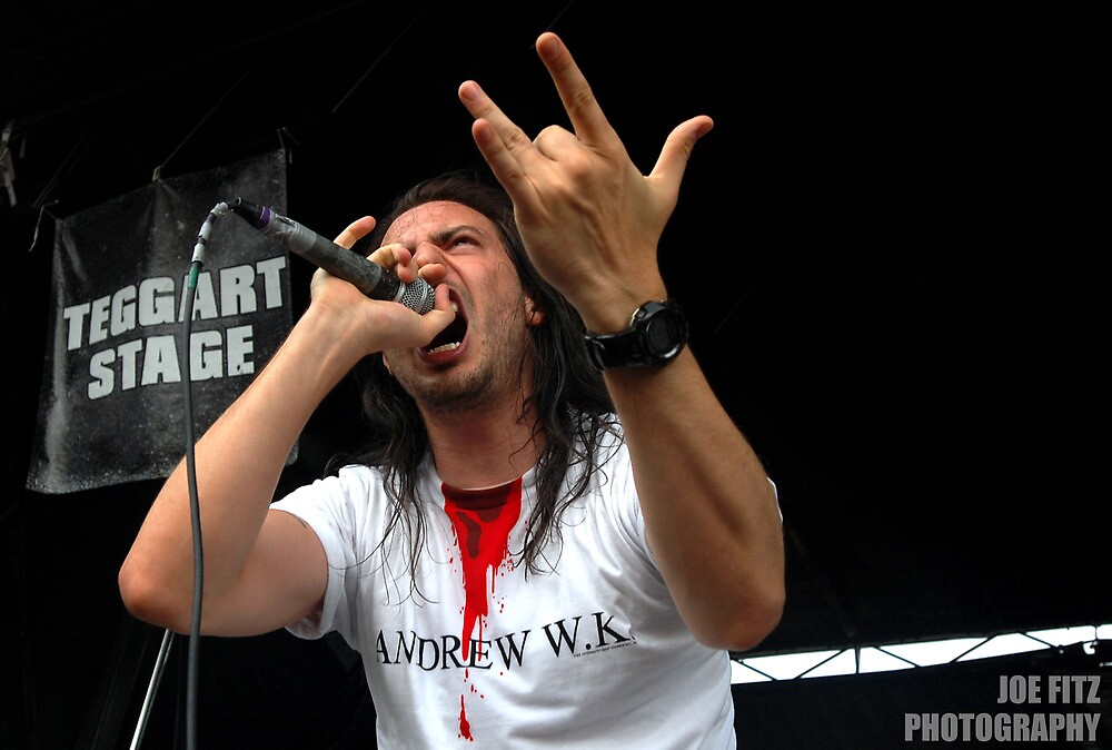 Andrew WK by Joe Fitzpatrick