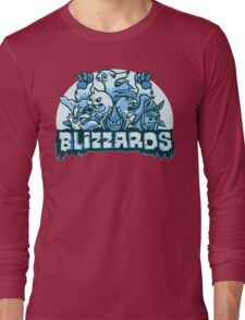 Team Ice Types - Blizzards Long Sleeve T-Shirt