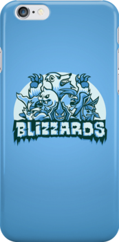 Team Ice Types - Blizzards by Kari Fry