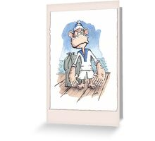 Monkey Sailor Greeting Card