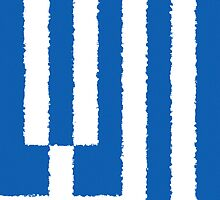 Smartphone Case - Flag of Greece - Vertical Painted by Mark Podger