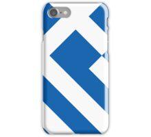 Smartphone Case - Flag of Greece - Diagonal iPhone Case/Skin