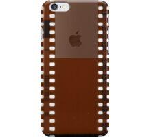 35mm Film Negative w/ Apple Logo iPhone Case/Skin