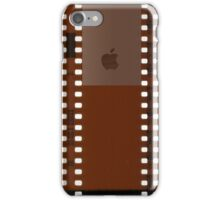 35mm Film Negative w/ Apple Logo iPhone Case/Skin