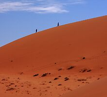 """""""Red Sand Dunes"""" Namibia,  West Africa by aidan  moran"""