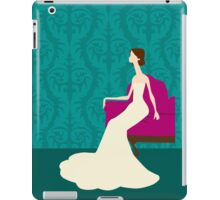 Bride Sitting in Chair iPad Case/Skin