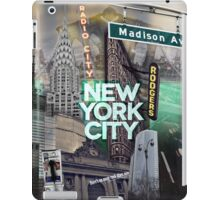 New York City [green] iPad Case/Skin