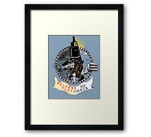 Constants and Variables Framed Print