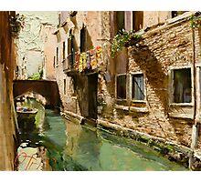 Venetian Solar Street Photographic Print