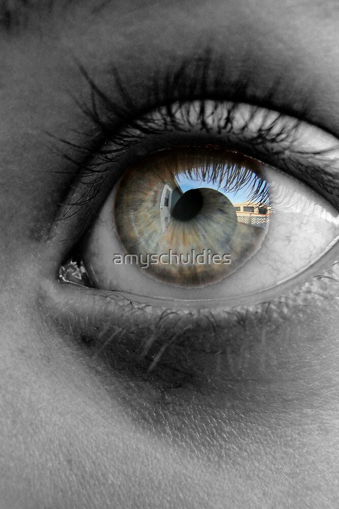 Reflection in the Eye by amyschuldies