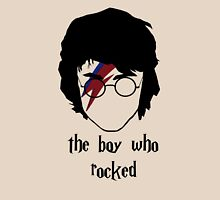 The boy who rocked// with text Unisex T-Shirt