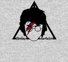 The boy who rocked// deathly hallows Hoodie