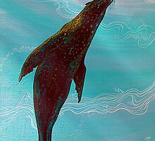 Sea Lion from the Galapagos Islands by acrylicsandart
