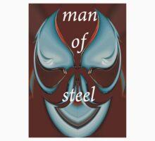 tee 0506 - man of steel 02 by Wieslaw Jan Syposz
