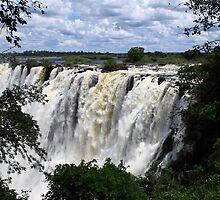 Victoria Falls View - Zambia by aidan  moran