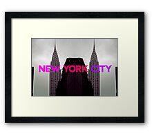 New York City 2 Framed Print