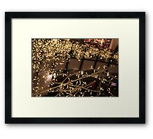 Lights - City Landscape Framed Print