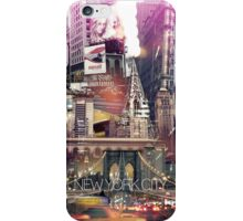 New York City [yellow] iPhone Case/Skin