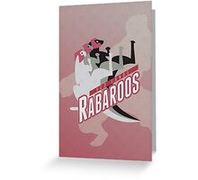 Red Sands Rabaroos Greeting Card