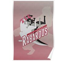 Red Sands Rabaroos Poster