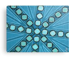 Seafrost Mandala 2 Canvas Print