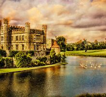 Leeds Castle Landscape by Chris Lord