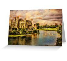 Leeds Castle Landscape Greeting Card