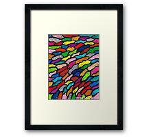 THE RAINBOW COLORS Framed Print