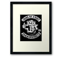 Sons of Vault Framed Print