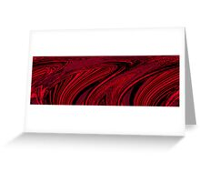 Abstract Photo Art - Water 10 Greeting Card