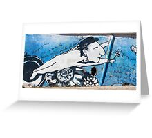 Street Art Santiago Chile Greeting Card