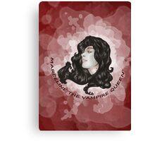 MARCELINE THE VAMPIRE QUEEN #1 Canvas Print